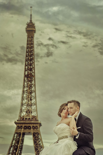 Wedding and photo session in Paris