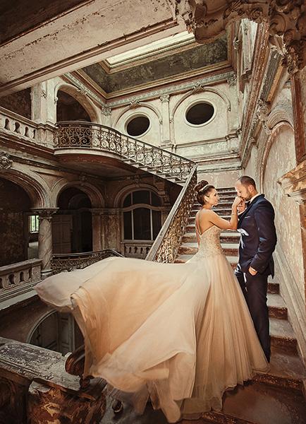 Plener i ślub Krowiarki