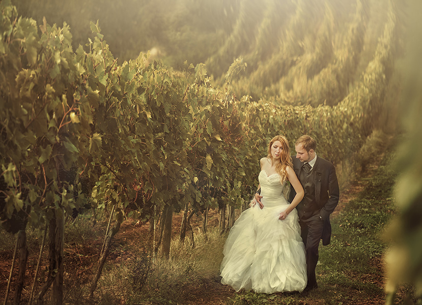 Bride and preparation
