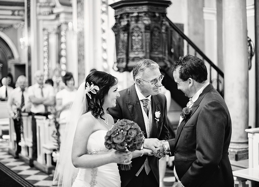Photographing weddings and church