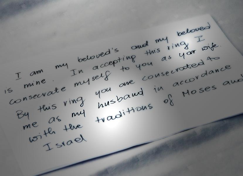 ślub żydowski, humanistyczny, apostolski - ta sama miłość