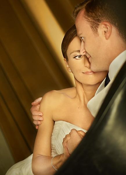 Makijaż ślubny przed sesją plenerową
