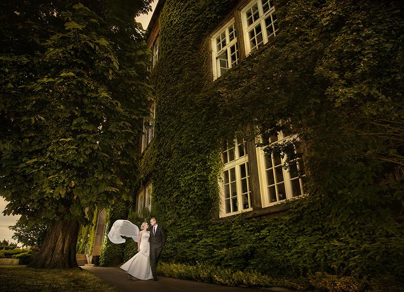 Fotografowanie sesji ślubnej