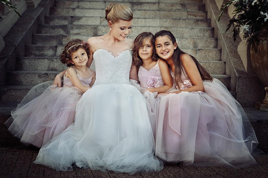 Rodzinne zdjęcia ślubne
