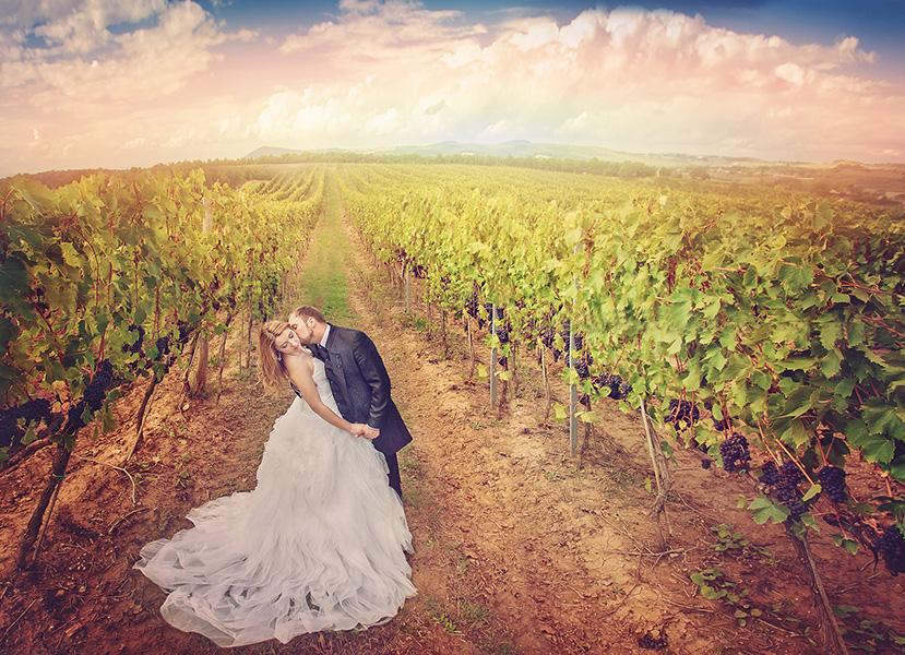 Plener ślubny Toskania