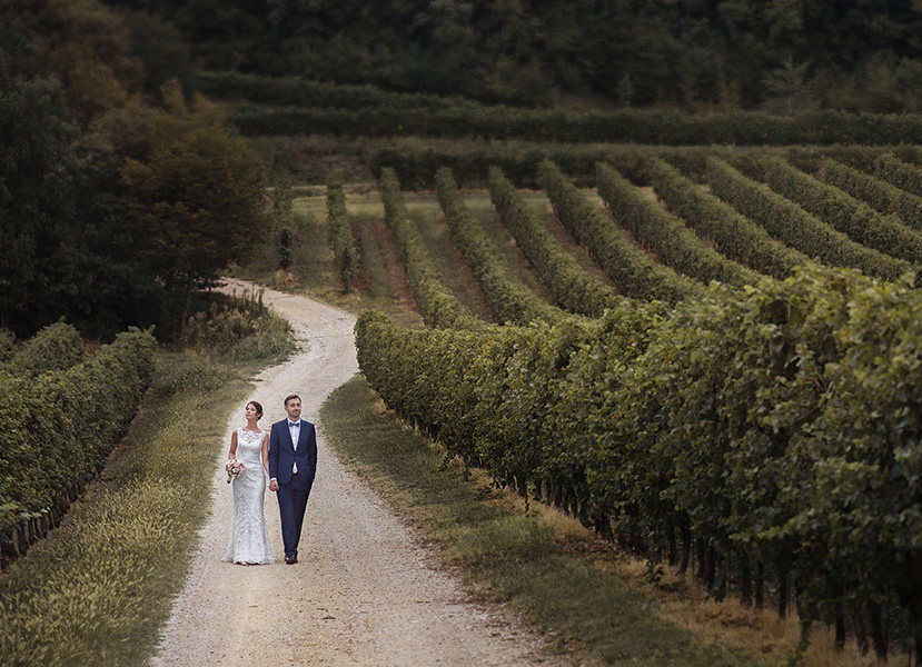 Wedding photographer, mirror and glares