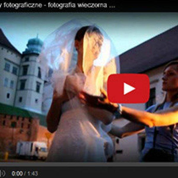 Warsztaty fotografii ślubnej - sesja wieczorna    Wedding photography workshops - evening session