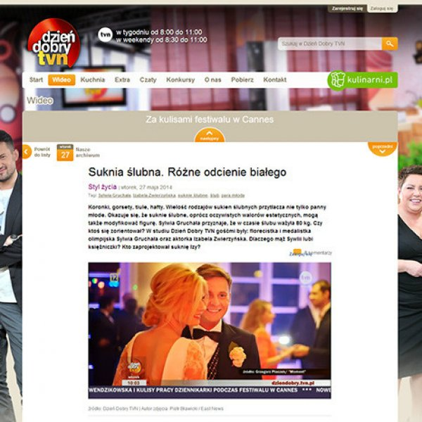"Moje zdjęcia ślubne w ""Dzień Dobry TVN""! 