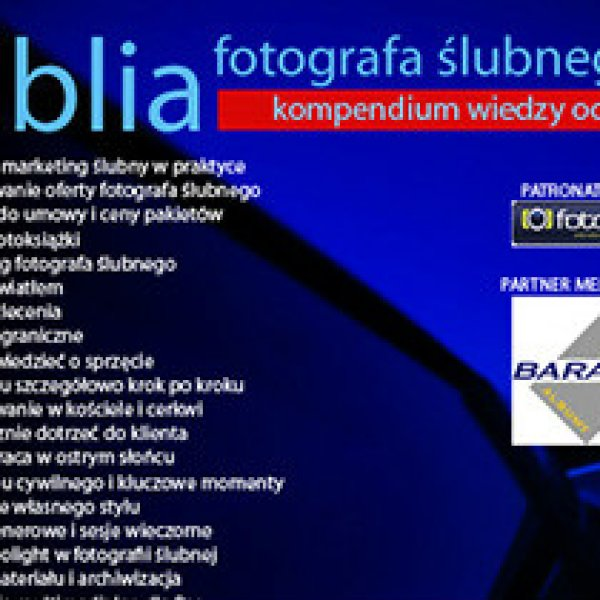 "Ebook ""Biblia Fotografa ślubnego"" 