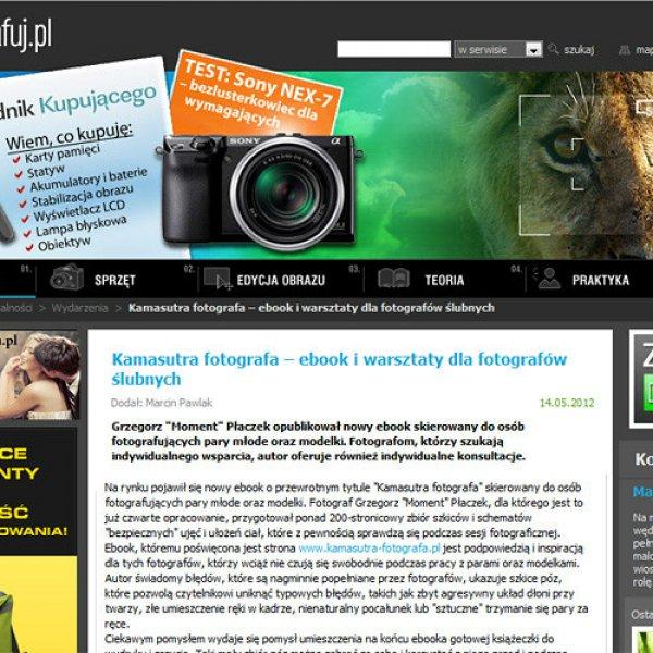 Czytaj o mnie i mojej fotografii na www.fotografuj.pl | Read about me and my images on www.fotografuj.pl