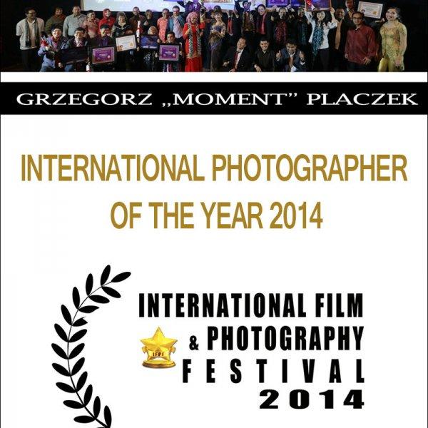 Międzynarodowy Fotograf Roku 2014   The Best Award - Photographer of The Year 2014