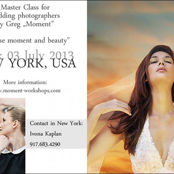 Warsztaty dla fotografów ślubnych w Nowym Jorku | Workshops for wedding photographers in NYC