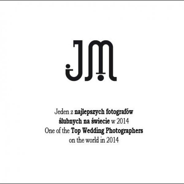 W gronie najlepszych fotografów ślubnych na świecie w 2014 roku | Among Top Wedding Photographers on the world in 2014
