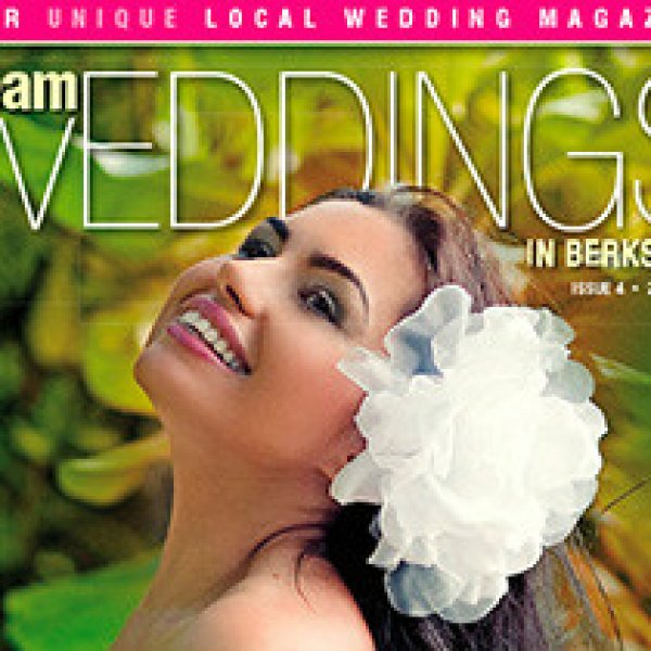 "Moje zdjęcie na okładce magazynu ""Dream Weddings"" w Wielkiej Brytanii 