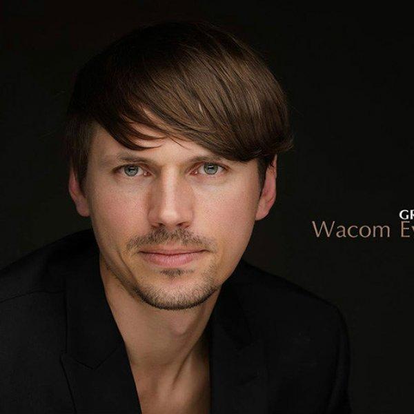 Grzegorz Ewangelistą marki Wacom
